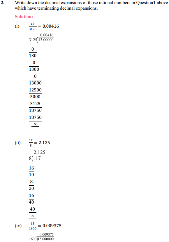 NCERT Solutions for Class 10 Maths Chapter 1 Real Numbers Ex 1.4 4