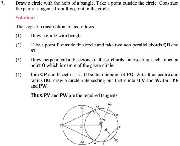 NCERT Solutions for Class 10 Maths Chapter 11 Constructions Ex 11.2 6