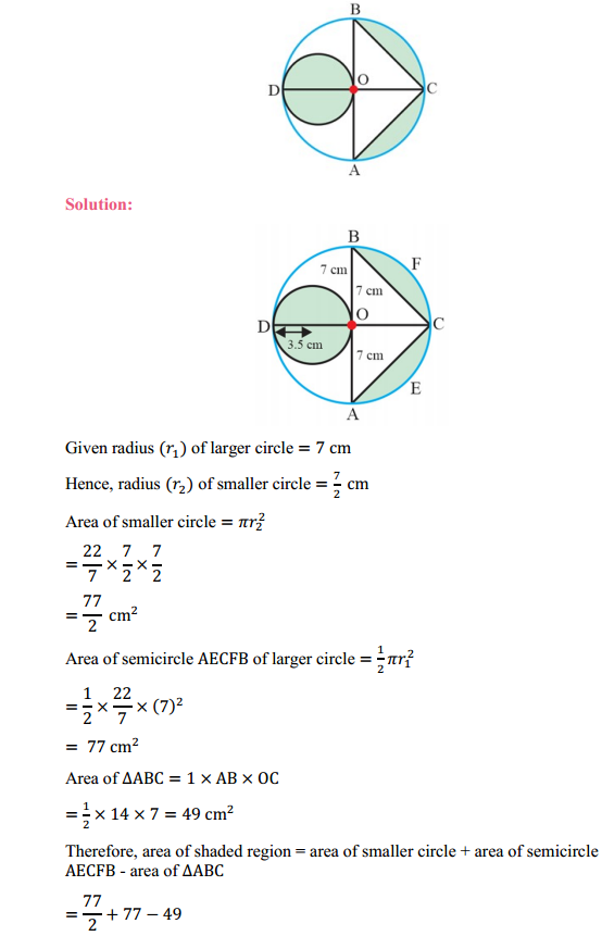 NCERT Solutions for Class 10 Maths Chapter 12 Areas Related to Circles Ex 12.3 11