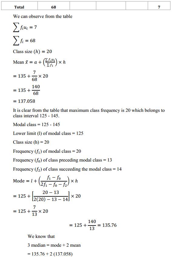 NCERT Solutions for Class 10 Maths Chapter 14 Statistics Ex 14.3 2