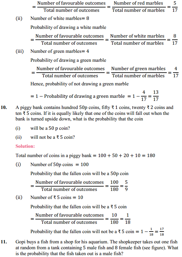 NCERT Solutions for Class 10 Maths Chapter 15 Probability Ex 15.1 4