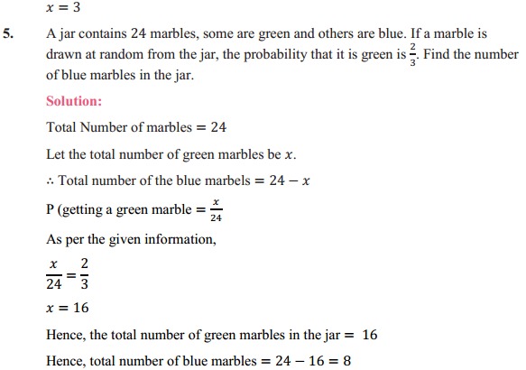 NCERT Solutions for Class 10 Maths Chapter 15 Probability Ex 15.2 4