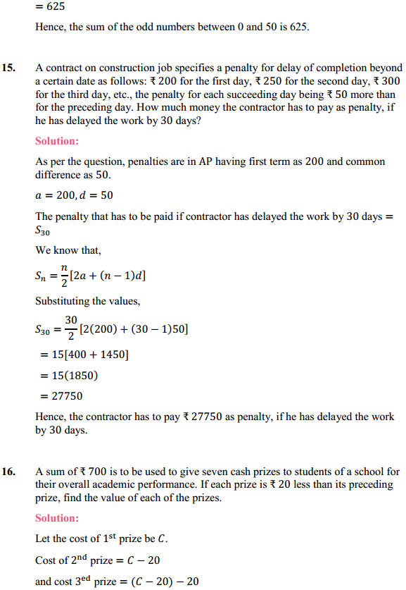 NCERT Solutions for Class 10 Maths Chapter 5 Arithmetic Progressions Ex 5.3 21