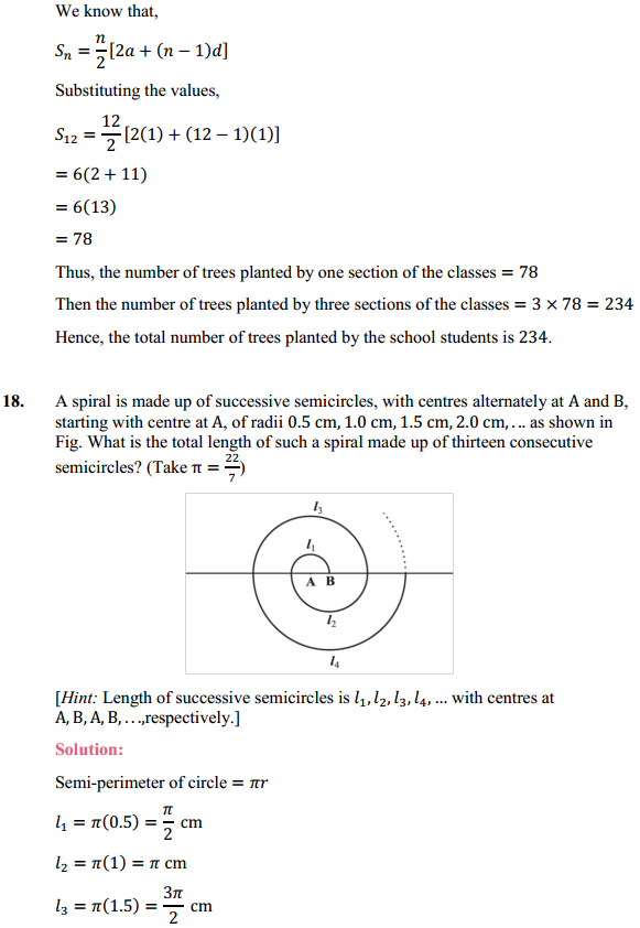 NCERT Solutions for Class 10 Maths Chapter 5 Arithmetic Progressions Ex 5.3 23