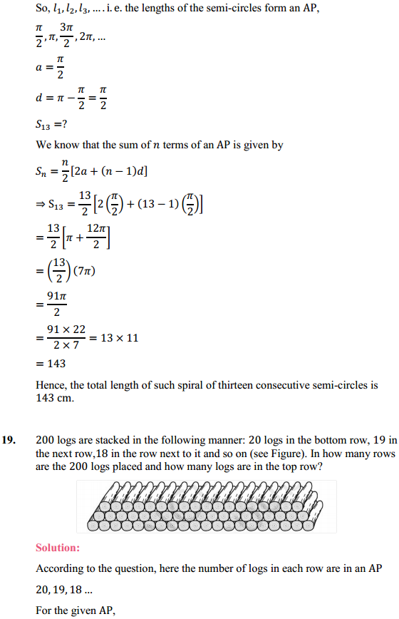 NCERT Solutions for Class 10 Maths Chapter 5 Arithmetic Progressions Ex 5.3 24