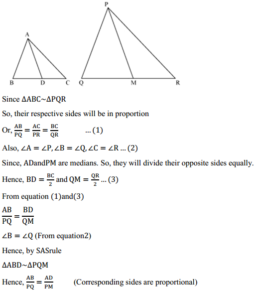 NCERT Solutions for Class 10 Maths Chapter 6 Triangles Ex 6.3 16