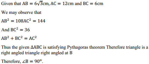 NCERT Solutions for Class 10 Maths Chapter 6 Triangles Ex 6.5 13
