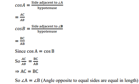 NCERT Solutions for Class 10 Maths Chapter 8 Introduction to Trigonometry Ex 8.1 10