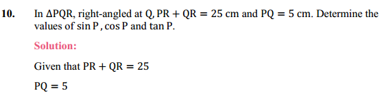 NCERT Solutions for Class 10 Maths Chapter 8 Introduction to Trigonometry Ex 8.1 16