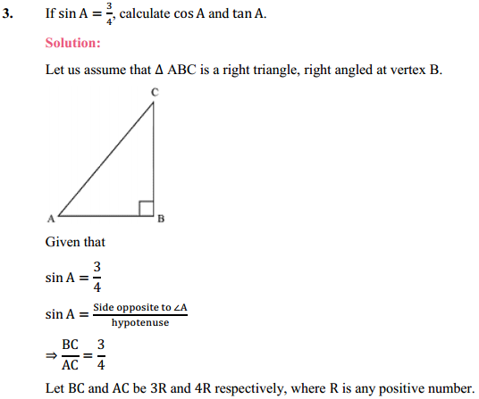 NCERT Solutions for Class 10 Maths Chapter 8 Introduction to Trigonometry Ex 8.1 4