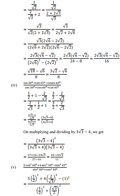 NCERT Solutions for Class 10 Maths Chapter 8 Introduction to Trigonometry Ex 8.2 2