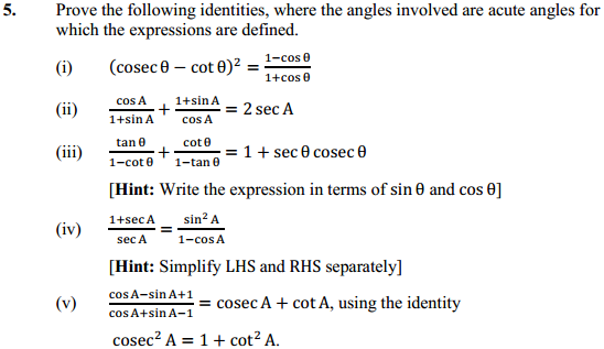 NCERT Solutions for Class 10 Maths Chapter 8 Introduction to Trigonometry Ex 8.4 7
