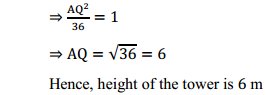 NCERT Solutions for Class 10 Maths Chapter 9 Some Applications of Trigonometry Ex 9.1 14