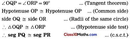 Circle Maths Notes 13