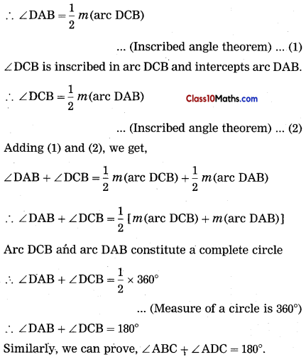 Circle Maths Notes 32