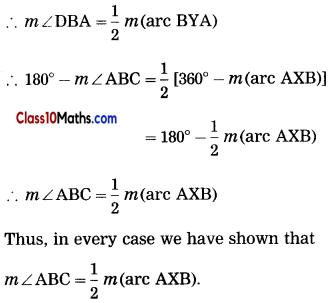 Circle Maths Notes 42