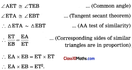 Circle Maths Notes 50