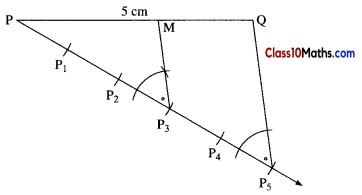 Geometric Constructions Maths Notes 10