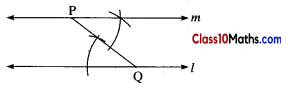 Geometric Constructions Maths Notes 8