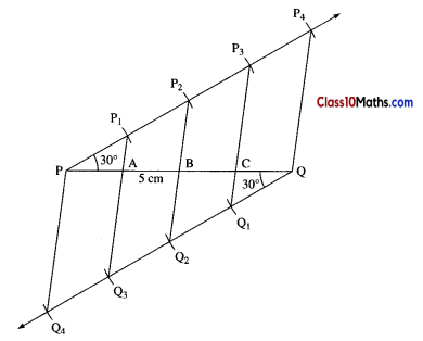 Geometric Constructions Maths Notes 9