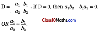 Linear Equations in Two Variables Maths Notes 10