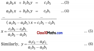 Linear Equations in Two Variables Maths Notes 17