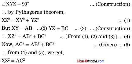 Pythagoras Theorem Notes 8