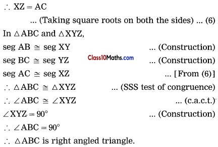 Pythagoras Theorem Notes 9