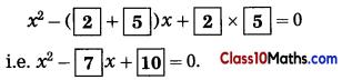 Quadratic Equations Notes 12