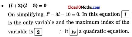 Quadratic Equations Notes 4